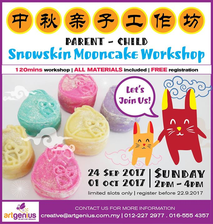 Parent-Child Snowskin Mooncake Workshop